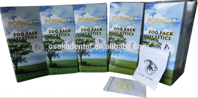 Latex Free Dental Orthodontic Elastic with Nice box packing