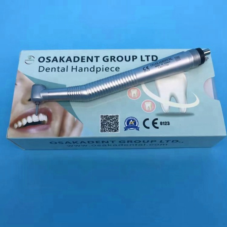 A Osakadental Key Type Dental Handpiece with Ceramic Bearing