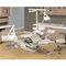 CE Aprroved dental unit dental chairs with Linak Motor and Real Leather Cushion