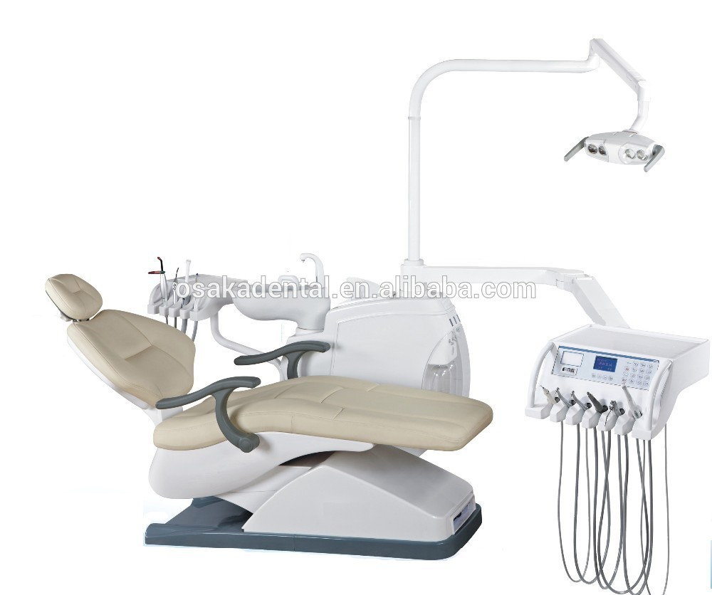 CE approved high quality Dental Unit dental chair with dentist stool