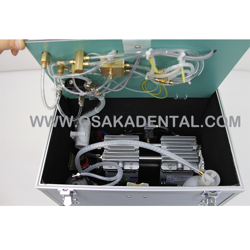 OSA-F321B Portable Dental Chair Unit with moving box