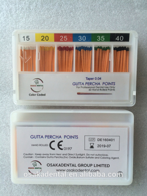 Osakadental Gutta Percha Points 04 taper /dental material/orthodontic material