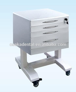 Hot sales Stainless Steel Dental Cabinet Dental Furniture with handle type