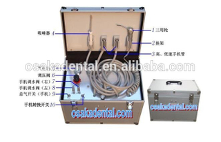 Economical dental equipment portable dental unit with CE approved