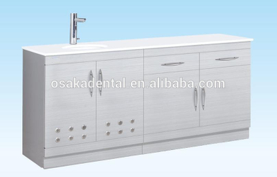 High fashion Stainless Steel Dental Cabinet medical cabinet with handle type