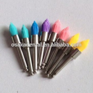 Colorful dental polish nylon brush small head