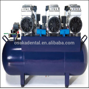 One for six dental unit Silent Oil Free Dental Air Compressor