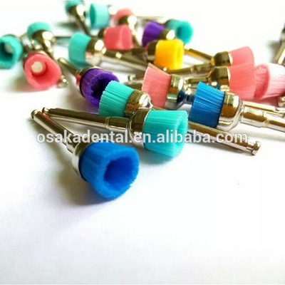 Colorful dental polish nylon brush big head