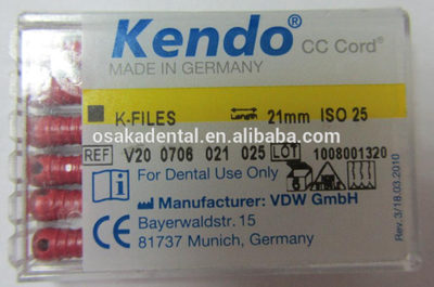 Dental supply /Endo files /K file High quality root canal files/SS K files/endo files