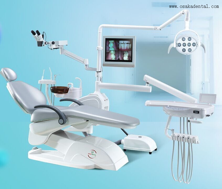 Economic Dental Chair Unit OSA-1 with Good Quality