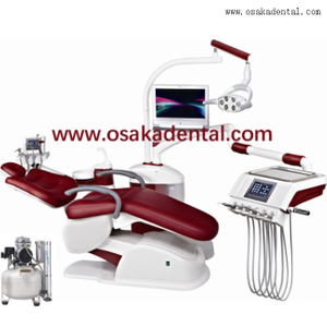 Dental chair unit with air compressor OSA-A6800