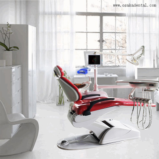 Economic Strong Dental Chair Unit with Sensor Lamp
