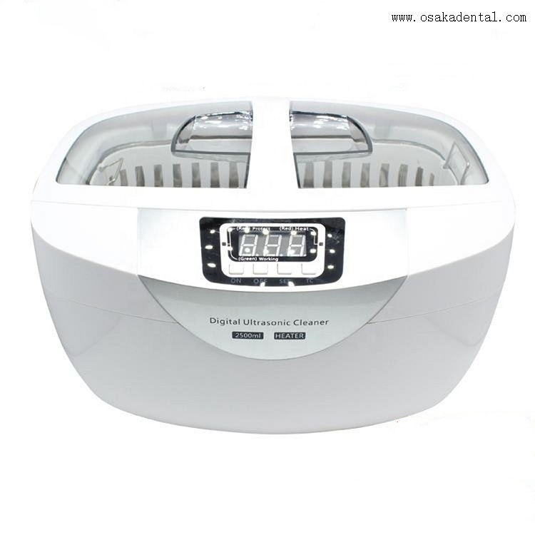 Dental Handpiece Ultrasonic Cleaner with Mesh Basket OSA-F112-2.5L