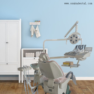 Dental Chair with Touch Screen Instrument Tray
