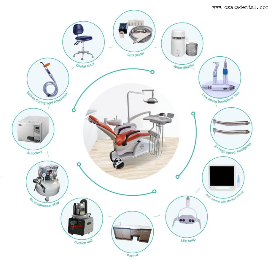 Portable Dental Chair Unit for New Clinic