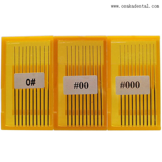 Good Square Barbed Broach Endodontic File