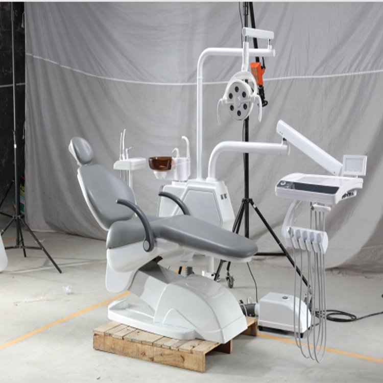 High Quality Dental Unit/Dental Chair with 6 Led Lamp and 3 Memory
