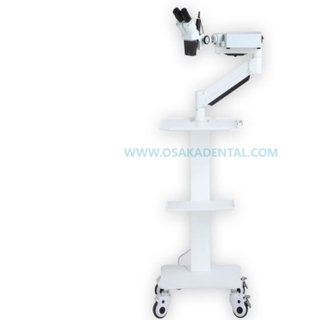 A Stable Quality Portable Dental Microscope with Mobile Trolley