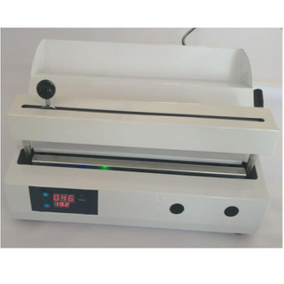 Dental plastic white color with temperature display sealing machine