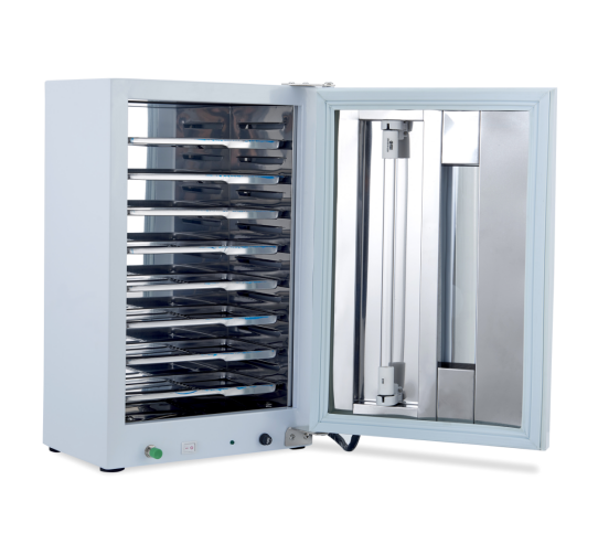 Newest Dental UV Sterilizer Single Door with Timing and Ozone with 10 Stainless Tray Autoclave